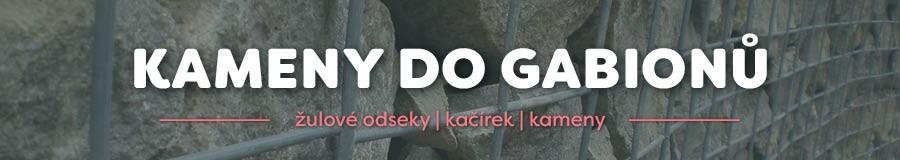 KAMENY DO GABIONŮ | gabionové ploty a zdi | E-SHOP