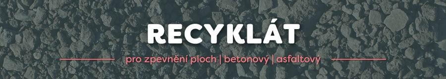 RECYKLÁT betonový   recyklát asfaltový   prodej   E-SHOP